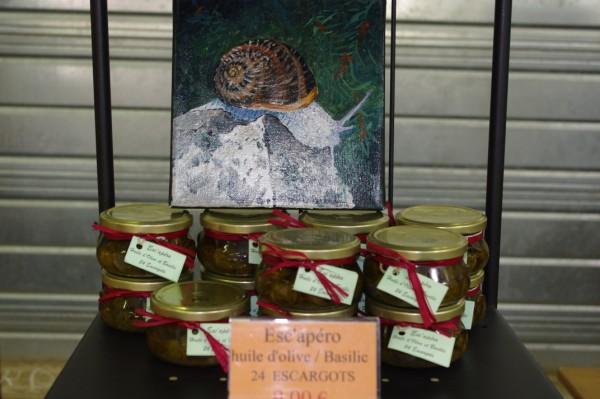 L`escargot des bruyères - Armelle Valero